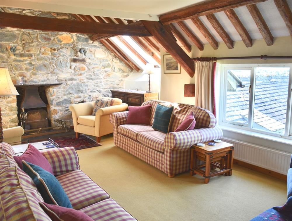 Llys Bennar, sitting room.