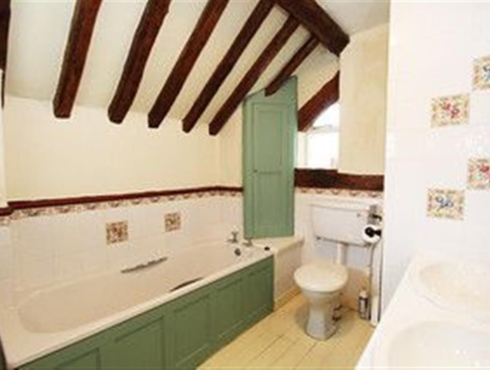 Llys Bennar, main bathroom.